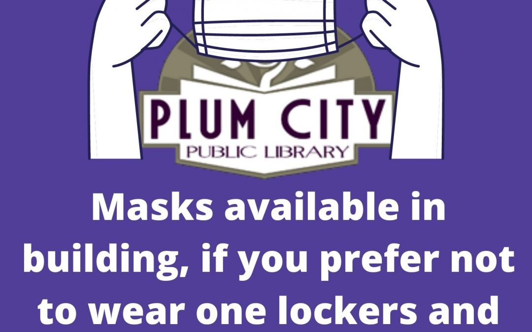 Masks now required